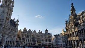 布鲁塞尔大广场在布鲁塞尔 免版税图库摄影