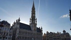 布鲁塞尔大广场在布鲁塞尔 库存图片