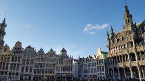 布鲁塞尔大广场在布鲁塞尔 图库摄影