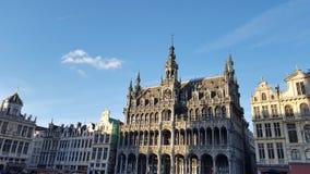 布鲁塞尔大广场在布鲁塞尔 库存照片