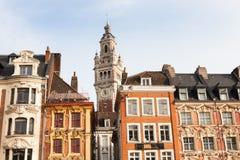 布鲁塞尔大广场,里尔,法国 免版税库存照片