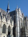 布鲁塞尔大教堂在比利时 库存图片