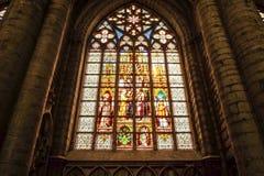 布鲁塞尔大教堂  免版税库存照片
