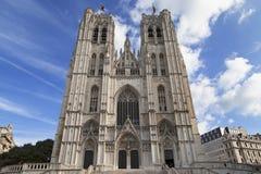 布鲁塞尔大教堂 免版税库存图片