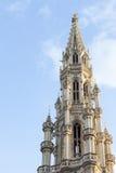 布鲁塞尔市中心细节 免版税图库摄影