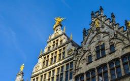 布鲁塞尔布鲁塞尔大广场在比利时 免版税图库摄影