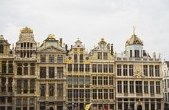布鲁塞尔布鲁塞尔大广场,比利时 库存照片