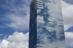 布鲁塞尔摩天大楼 免版税库存照片
