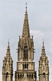 布鲁塞尔教会夫人laken我们的s 免版税库存图片