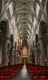 布鲁塞尔教会 库存照片
