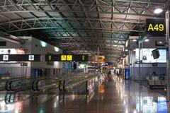 布鲁塞尔机场大厅 库存照片