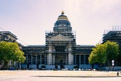 布鲁塞尔正义宫殿 库存照片