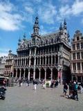 布鲁塞尔比利时布鲁塞尔城镇厅 免版税库存照片