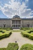 布鲁塞尔王宫在比利时 免版税库存图片