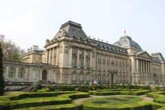 布鲁塞尔王宫 库存图片