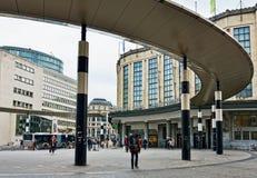 布鲁塞尔的中央火车站 库存图片
