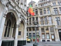 布鲁塞尔首都 库存照片