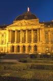 布鲁塞尔,比利时王宫。 免版税图库摄影
