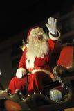 布鲁塞尔,比利时,圣诞节游行, 12月 2013年 库存照片
