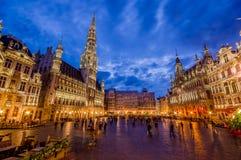 布鲁塞尔,比利时- 2015年8月11日, :震惊 免版税库存照片