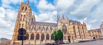 布鲁塞尔,比利时- 2016年7月07日:Notre Dame du Sablon ` s Cathe 免版税库存图片