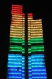 137 m高Dexia塔 免版税库存图片