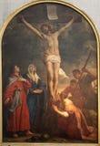 布鲁塞尔-在十字架上钉死痛苦 库存照片