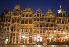 布鲁塞尔-大广场- Grote Markt 库存照片