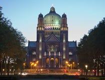 布鲁塞尔-神圣的重点的国家大教堂 免版税库存照片