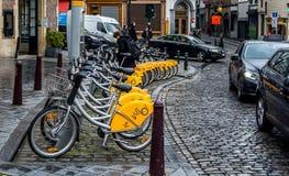 布鲁塞尔建筑学 放松-您在布鲁塞尔! 免版税图库摄影