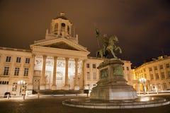 布鲁塞尔- Coudenberg的圣Jacques教会 免版税库存图片