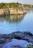 布鲁斯半岛远景 库存图片