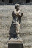 布鲁斯庇护雕象 库存图片