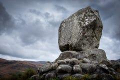 布鲁斯的石头,盖洛韦,苏格兰 免版税库存图片