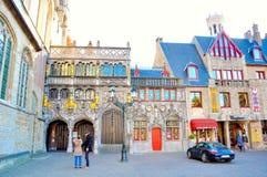 布鲁日比利时 免版税库存图片