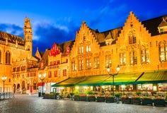 布鲁日,城镇在富兰德-比利时 免版税图库摄影