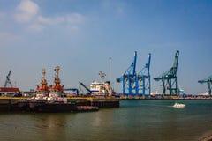 布鲁日,富兰德,比利时港  免版税库存图片