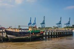 布鲁日,富兰德,比利时港  免版税库存照片