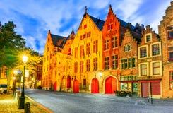 布鲁日,富兰德-比利时 免版税库存图片