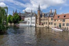 布鲁日,比利时 图库摄影