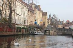 布鲁日-比利时 库存图片