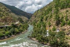 廷布,不丹2015年9月 库存图片