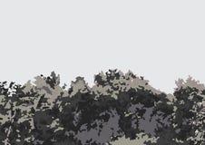 布什传染媒介对象 库存照片