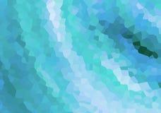 帆布万花筒雪霜在蓝色欢乐样式鲜绿色背景网络设计的设计上雕琢平面 图库摄影