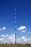 帆柱收音机 图库摄影