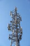 帆柱移动电话 图库摄影