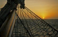 帆柱船 图库摄影