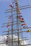 帆柱船 免版税图库摄影