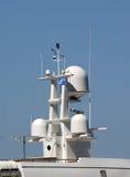 帆柱雷达 库存照片