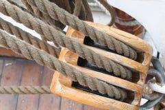 帆柱风帆 免版税图库摄影